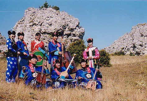 EGSCHIGLEN – Mélodies de la Mongolie d'aujourd'hui