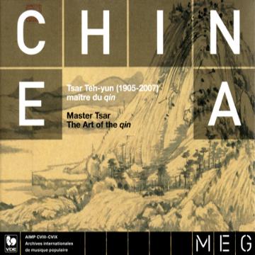 Chine : TSAR TEH-YUN, maître du qin