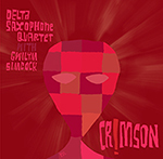 DELTA SAXOPHONE QUARTET with Gwilym SIMCOCK –  Crimson !