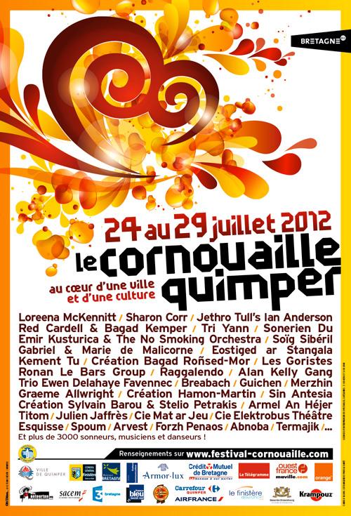 Le Festival de Cornouaille de Quimper 2012