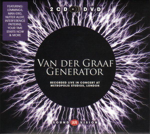VAN DER GRAAF GENERATOR – Recorded Live in Concert at Metropolis Studios, London