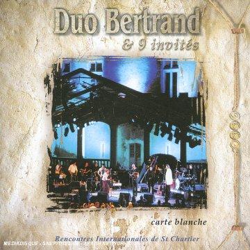 DUO BERTRAND & 9 invités – Carte blanche – Rencontres internationales de Saint-Chartier